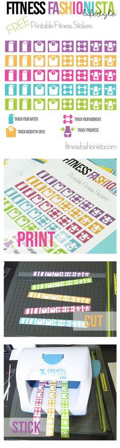 Free Printable Fitne