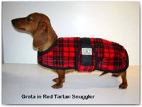 Perfect coats for your daschund!