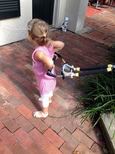 ---wants to ski backwards----like Pappy!