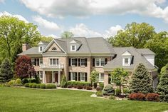 A home you'd be hard pressed to find complaints with. Nice examples of properly executed exterior shutters and landscaping. Watchung Boro, NJ Coldwell Banker Residential Brokerage