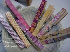 Cute inkingpink, gettin crafti, cloth pin, clothespin, divin diy, growth charts, magnet, crafti idea