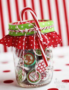 Christmas Hershey's Kiss Free Printables!