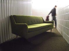 Streamlined MCM Sofa