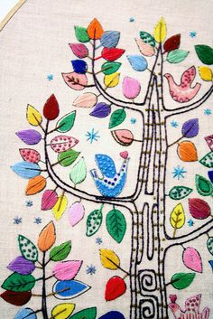 embroidery tree