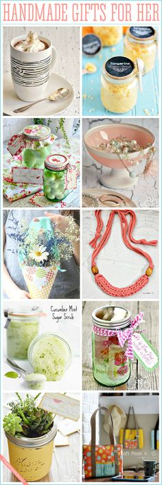 Adorable And Affordable Handmade Gifts For Her Super
