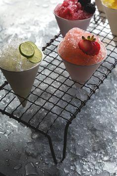 Cocktail Snow Cones