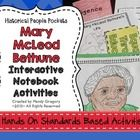 This packet was created to provide hands- on activities for your Mary McLeod Bethune unit.  These activities are perfect for interactive notebookin...