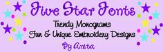 FIVE STAR FONTS