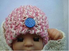Crocheted Newborn Hat - Good project for Donating to hospital