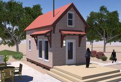 Homesteader's Cabin - Free plans from tinyhouseblog.com