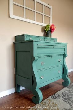 Beautiful Refinished Empire dresser. WANT.