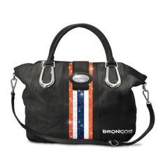 """Denver Broncos """"Mile High City Chic"""" Handbag #Broncos #NFL"""