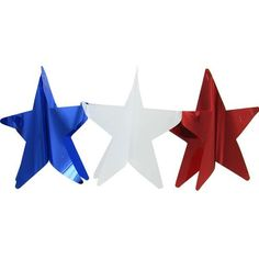 3-D Patriotic Star Foil Garland $1.99