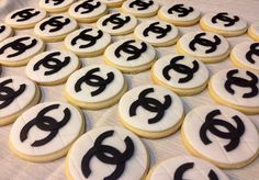 Designer Inspired Chanel Cookies Chanel by Dolcecreativesweets, $42.00
