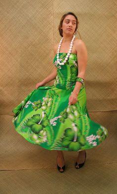 print dress, pacif print