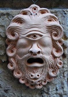 Cyclops mask, Siracusa Italy