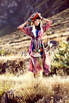 South Korean actress Han Hey Jin, photographed by Peruvian born fashion photographer Alexander Neumann, for the July 2012 issue of Vogue Korea.
