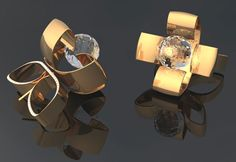 Concept of new jewels for the company DML (Master Class 2009)