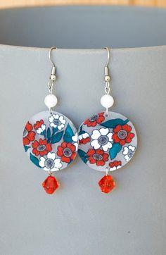 Handmade Shrink Plastic Earrings