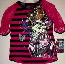MONSTER HIGH GIRLS Shirt Size 10/12 Shirt NEW
