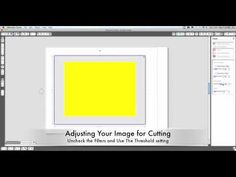 Easy video showing you how to use the trace feature on Silhouette Studio to trace and cut an image.