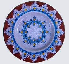 Plate #36 comes in sizes 35cm, 43cm & 48cm all of our terracotta is on our website www.romeocuomoceramics.com
