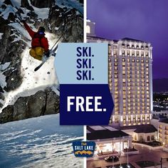 Book 3 days of skiing & 3 nights of lodging, then get the 4th day's skiing & night's stay FREE! Learn more here! http://www.visitsaltlake.com/skideals/
