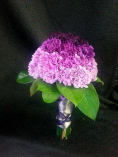 Ombre Carnation bouquet