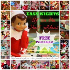 Dozens of Elf on the Shelf Ideas, New Ideas Added Daily during the Holiday Season #theelfontheshelf #elfontheshelfideas #elfontheshelf