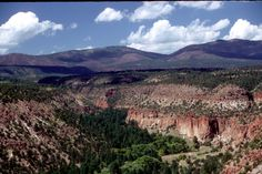 View from my hometown (Los Alamos)