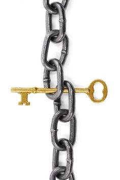 So often times it happens that we live our lives in chains   And we never even know we have the key.