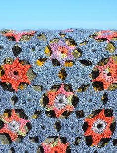 Ravelry: Starry Night Crochet Blanket/Afghan pattern by Amanda Perkins
