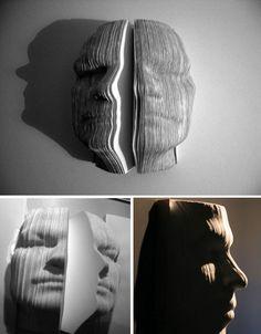 artists, sculptures, nichola galanin, book art, book sculpture, artist books, paper sculptur, altered books, country crafts