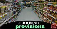Choosing what foods to buy food