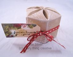 Silver Stamping: Blossom Box Template from Every Thing Creative