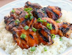 Tandoori Grilled Chicken Thighs chicken thighs