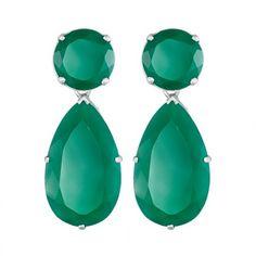 stone drop earrings   /   sophie by sophie