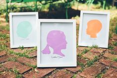 How to Make Silhouettes for Mothers Day