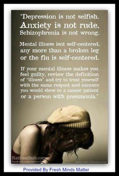 MENTAL HEALTH... Love being a mental health nurse...
