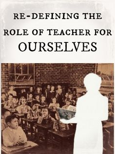 Redefining the role of teacher for ourselves | The Cornerstone