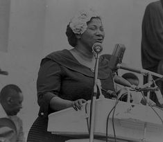 Mahalia Jackson (1911– 1972) was widely regarded as one of the best and most influential gospel singers of her time as well as history.