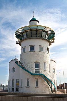 Lighthouse in Harlingen, Netherlands