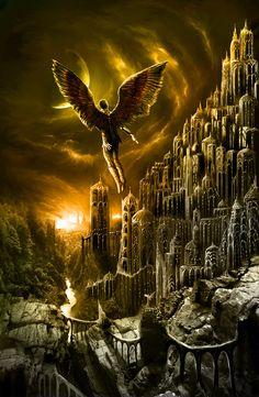 ✯ Icarus Rising .:☆:. Artist Vitaly S. Alexius ✯