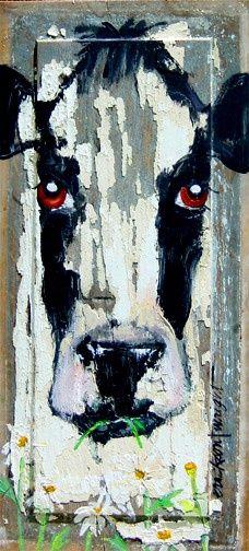 ...paint on barn wood