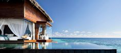 Maldives Water Villas - Ocean Sanctuary Sunset - Jumeirah Dhevanafushi