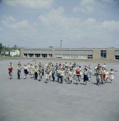 1960 school children