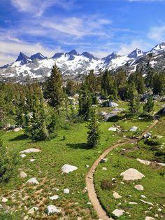 Ritter Range, Ansel Adams Wilderness photograph, sierra nevada, pacific crest trail, backpack, national parks, adam wilder, ansel adams, place, bucket lists