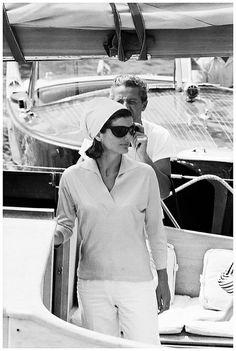 Jackie Kennedy - Ravello , Italy