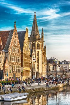 Evening in Gent, Belgium