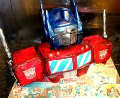 optimus prime cake - Google Search